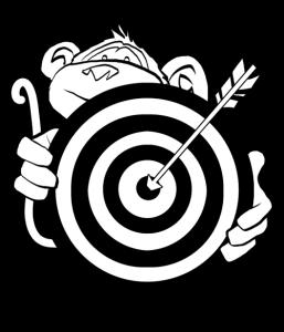 Affi mit Zielscheibe